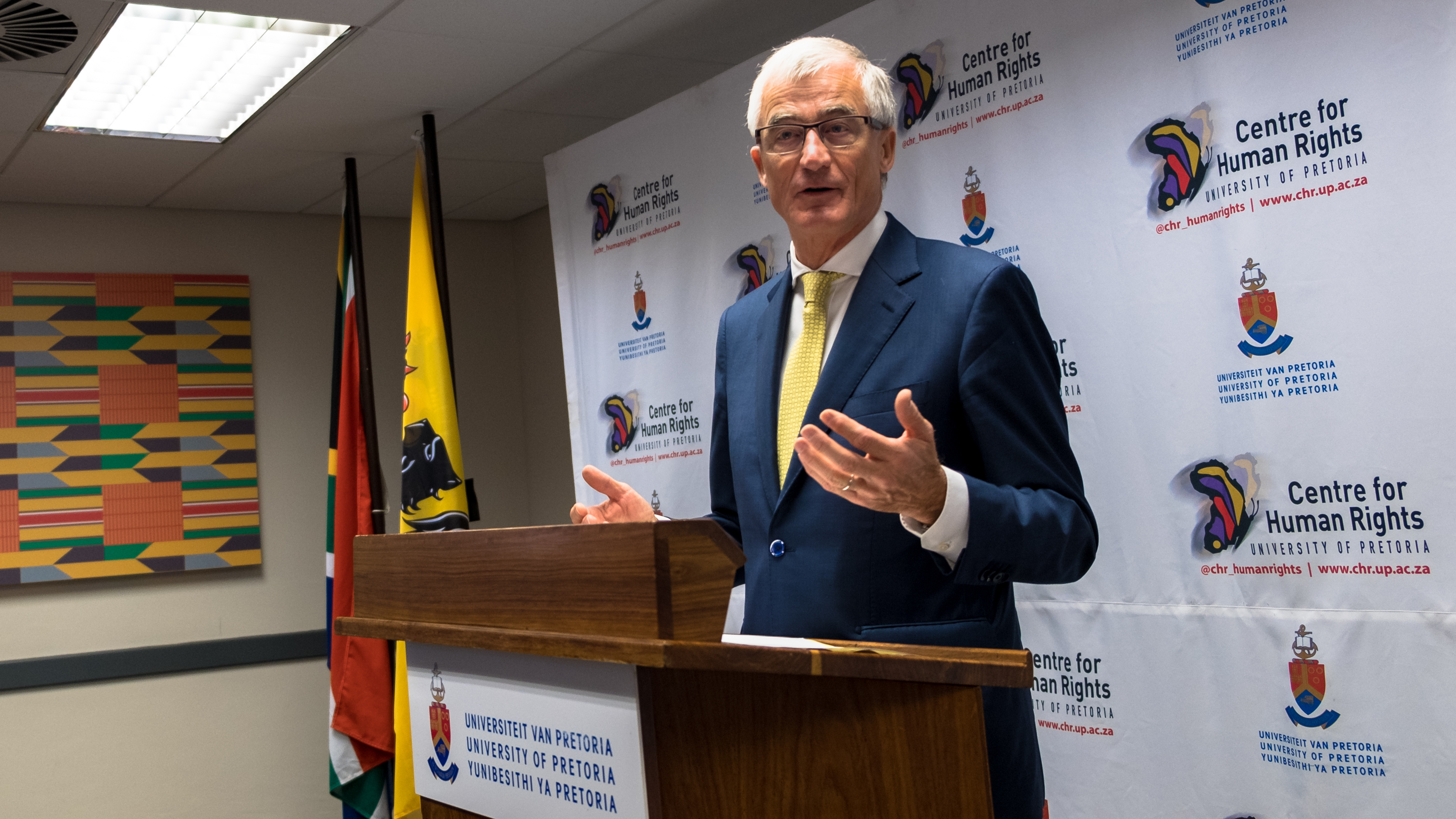 MP speech at Centre for Human Rights