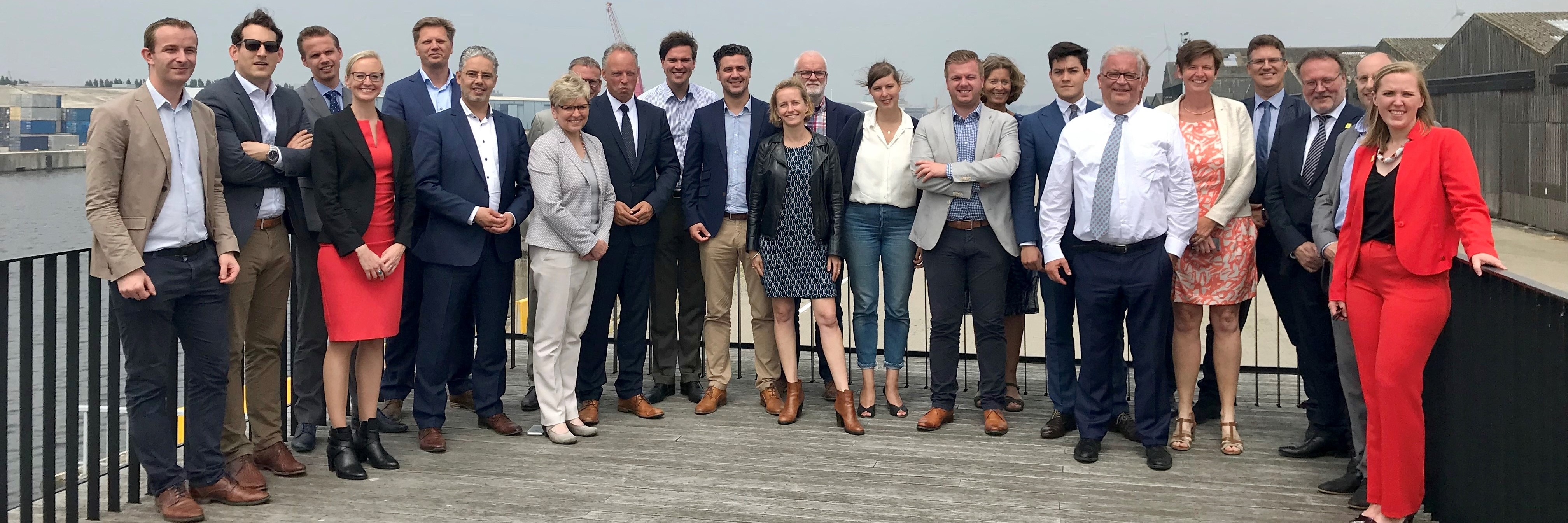 Flemish and Dutch parliamentarians  Ghent-Terneuzen