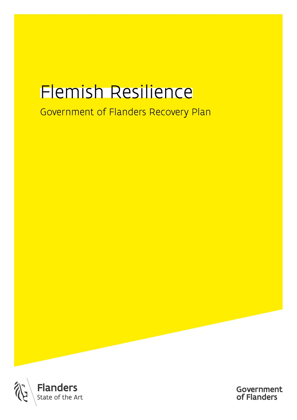 RELANCE Flemish Resilience - cover