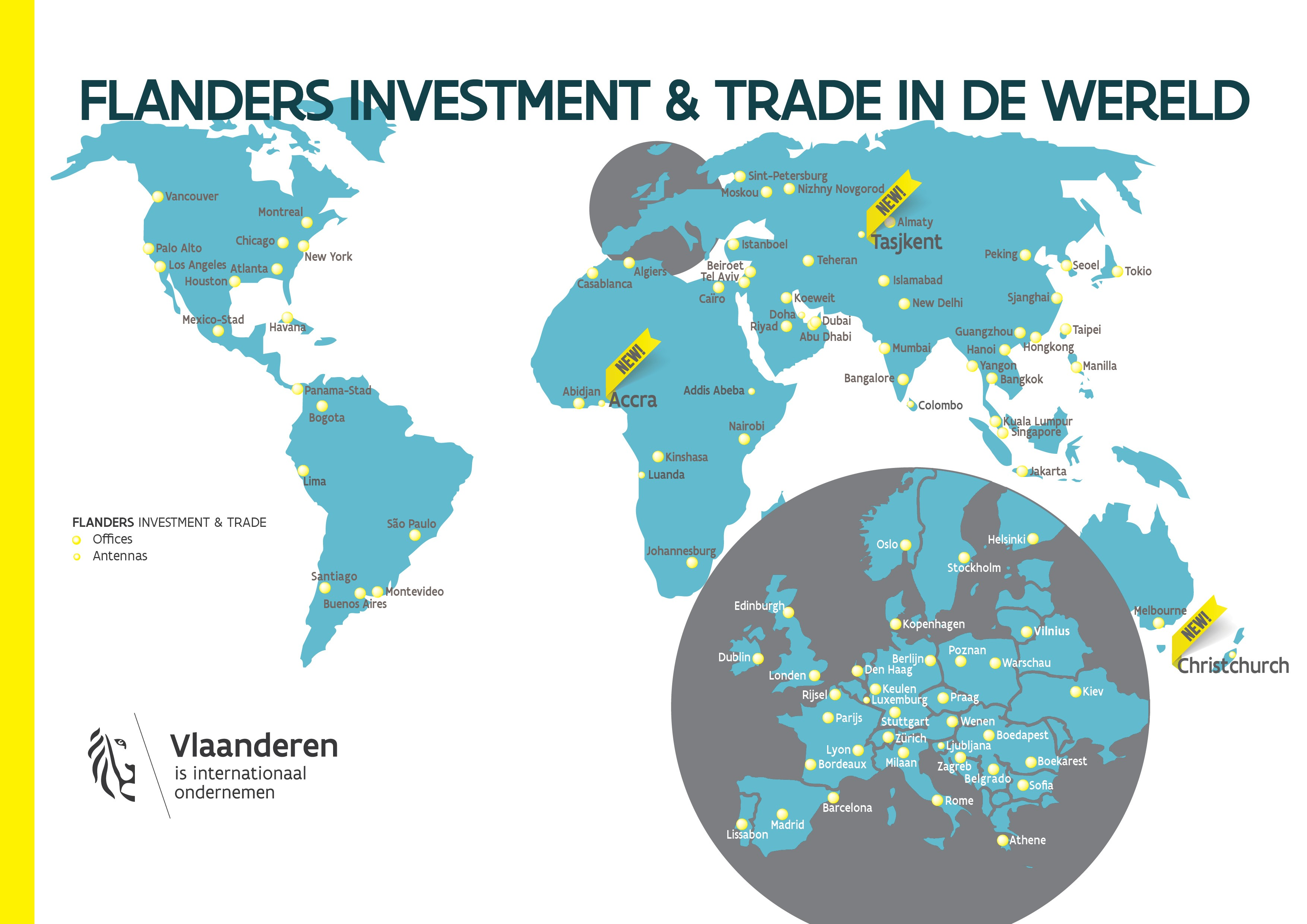 Flanders Investment  and Trade - expansion of global trade network